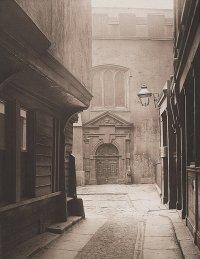 fototapeta z historyczną uliczką